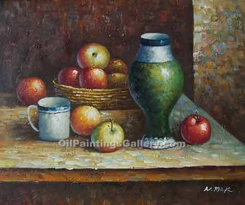 """Still Life Apples and Carafe 65"""