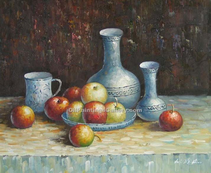 """Still Life Apples and Carafe 67"""