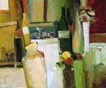 Still Life Bottles  (Painting ID: SL-1223-KA)
