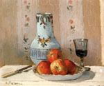 Still Life with Apples and Pitcher by  Camille Pissarro (Painting ID: SL-2012-KA)