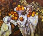 Still Life with Apples by  Paul Cezanne (Painting ID: SL-2123-KA)