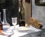 Still Life with Bottles by  Claude Monet (Painting ID: SL-0099-KA)