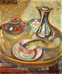 Still Life with Coffee Pot by  Roger Eliot Fry (Painting ID: SL-0305-KA)