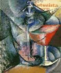 Still Life with Glass and Siphon by  Umberto Boccioni (Painting ID: AF-0338-KA)