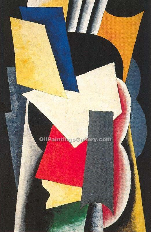 """Still Life with Intsruments"" by  Lyubov Popova"