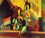 Still Life with Italian Painting by  Roger Eliot Fry (Painting ID: SL-0307-KA)