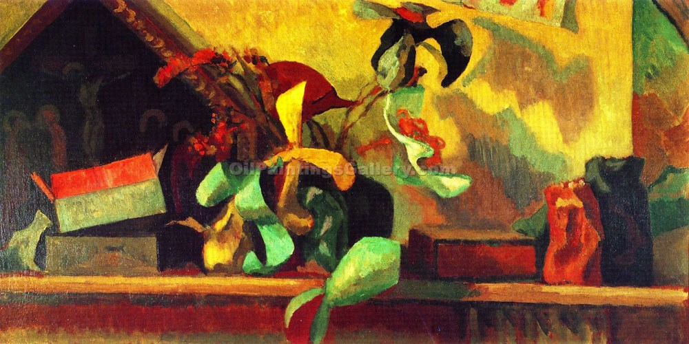 """Still Life with Italian Painting"" by  Roger Eliot Fry"
