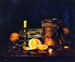 Still Life with Oranges by  Joseph Kleitsch (Painting ID: SL-0330-KA)
