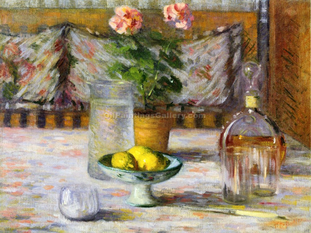 """Still Life with Three Lemons"" by Theodore Earl Butler"