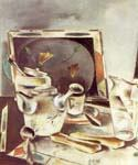 Still life Tea Table by  Preston Dickinson (Painting ID: SL-1068-KA)
