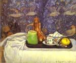 Still life with a Coffee Pot by  Camille Pissarro (Painting ID: SL-2014-KA)