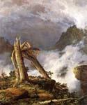 Storm in the Mountains by  Frederic Edwin Church (Painting ID: LA-1515-KA)
