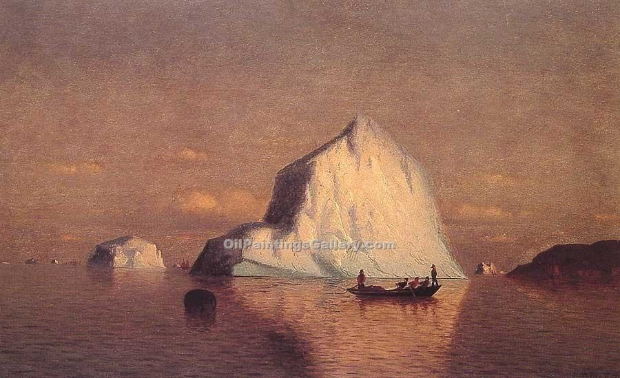"""Straits of Belle Isle"" by  William Bradford"