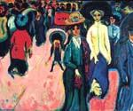 Street in Dresden by  Ernst Ludwig Kirchner (Painting ID: EI-1984-KA)