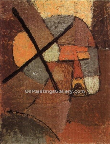 """Struck from the List"" by  Paul Klee"