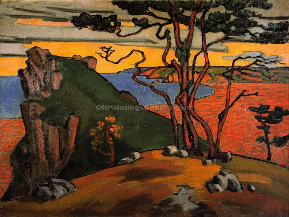 """Studland Bay"" by  Roger Eliot Fry"
