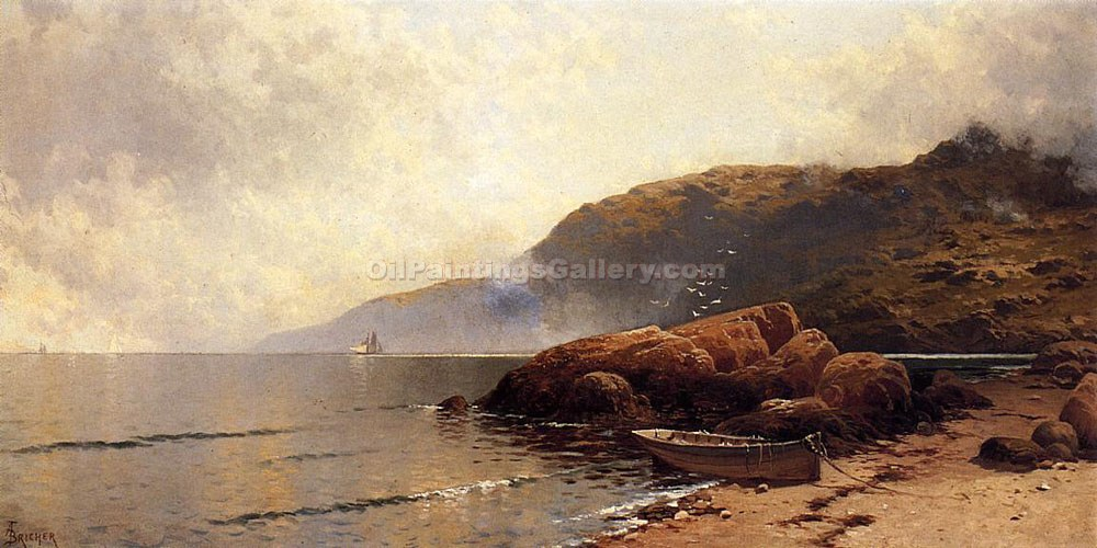 """Summer Day at Grand Manan"" by  Alfred Thompson Bricher"