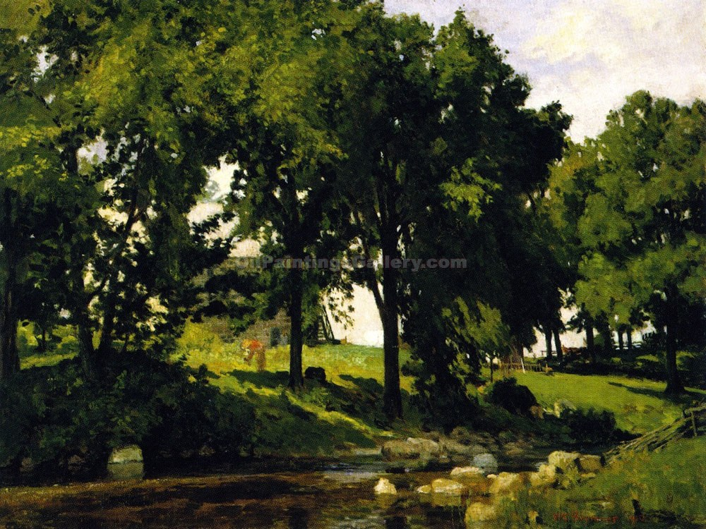"""Summer Landscape 31"" by  William Brymner"