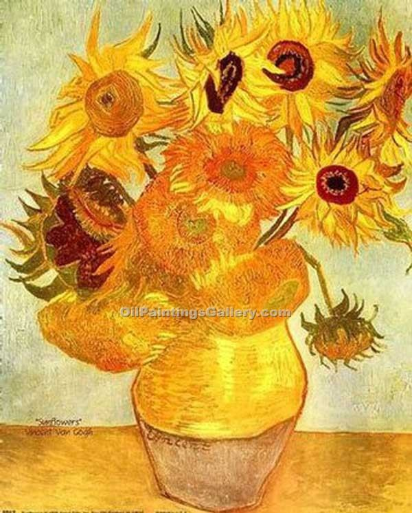 """Sunflowers 01"" by  Vincent Van Gogh"