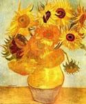 Sunflowers 01 by  Vincent Van Gogh (Painting ID: VG-0401-KA)