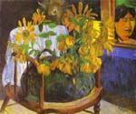 Sunflowers 10 by  Paul Gauguin (Painting ID: GA-0410-KA)