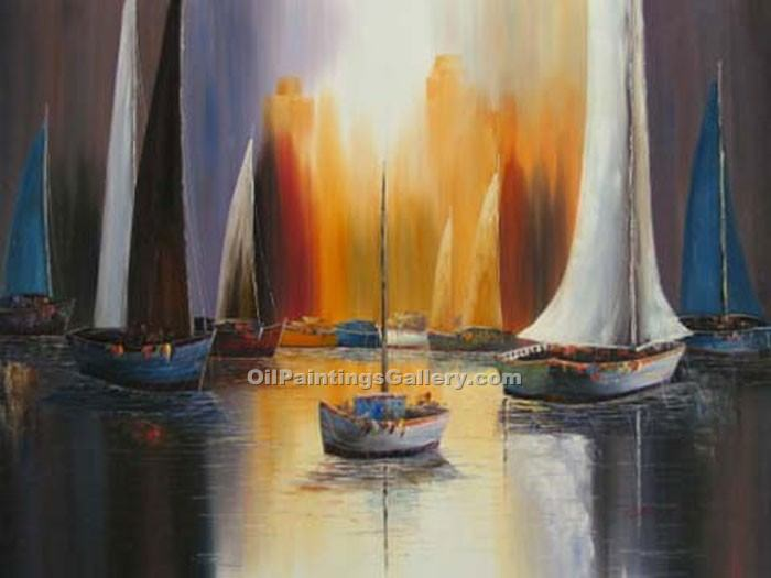 """Sunset Sail 90"""