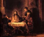 Supper at Emmaus 73 by  Harmenszoonvan Van Rijn Rembrandt (Painting ID: CM-0773-KA)