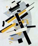 Suprematism 36 by  Kasimir Malevich (Painting ID: AB-9036-KA)