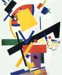 Suprematism 42 by  Kasimir Malevich (Painting ID: AB-0642-KA)