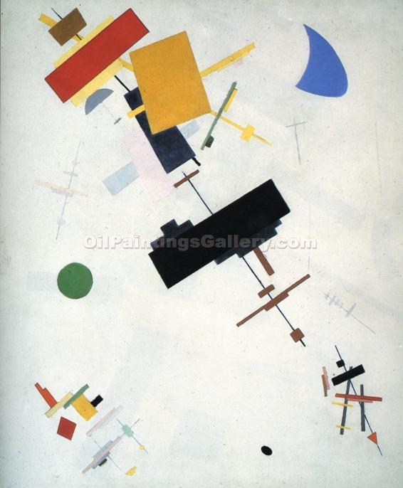 """Supremus No. 56"" by  Kasimir Malevich"
