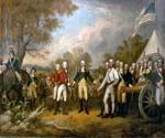 Surrender of General Burgoyne by  John Trumbull (Painting ID: CL-2518-KA)