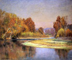 Sycamores on the Whitewater by  John Ottis Adams (Painting ID: LA-3308-KA)