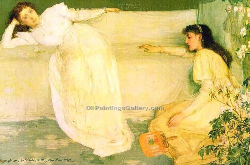 """Symphony in White No 3"" by  James McNeill  Whistler"