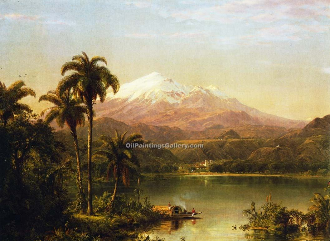 """Tamaca Palm"" by  Frederic Edwin Church"