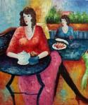 Tea Time 30 Oil Painting (ID: EI-1230-A)