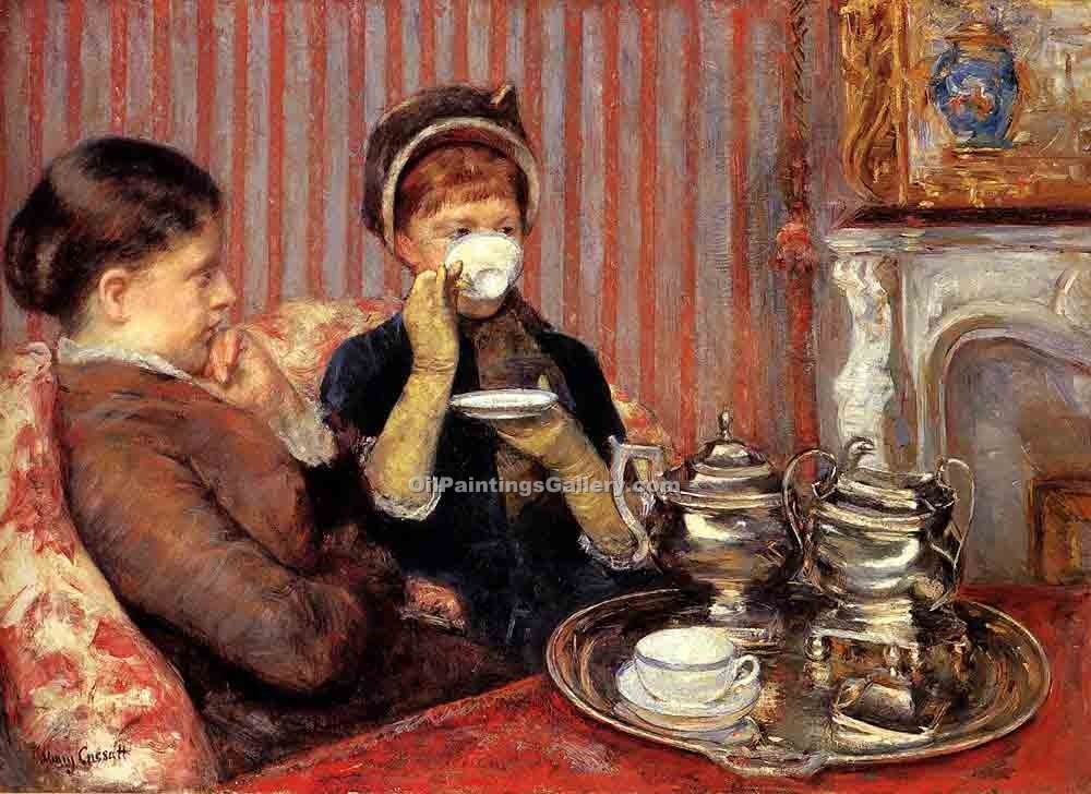 """Tea"" by  Mary Cassatt"