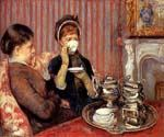 Tea by  Mary Cassatt (Painting ID: CL-3553-KA)