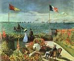 Terrace at St Adresse by  Claude Monet (Painting ID: MO-0893-KA)