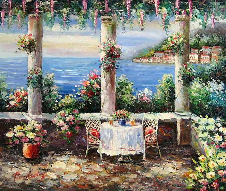 """Terrace in Portofino 00"""