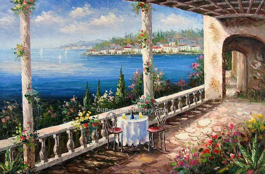 """Terrace in Portofino 02"""