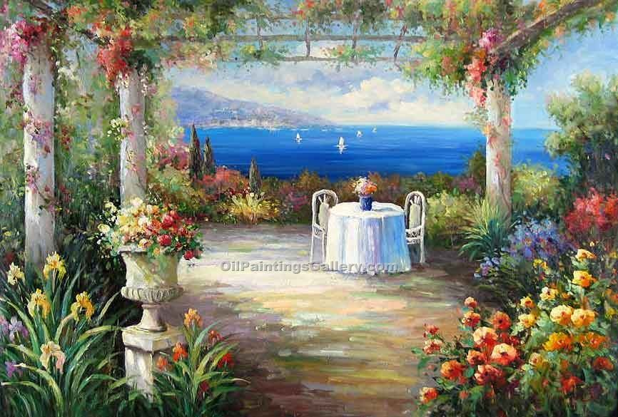 """Terrace on the Mediterranean 10"""