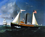 The A.C. Cheney by  James Gale Tyler (Painting ID: LA-2188-KA)