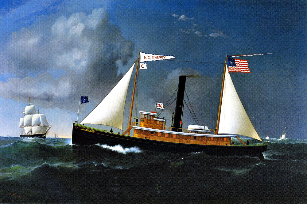 """The A.C. Cheney"" by  James Gale Tyler"