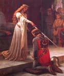 The Accolade  by  Blair Leighton Edmund (Painting ID: CL-2860-KA)