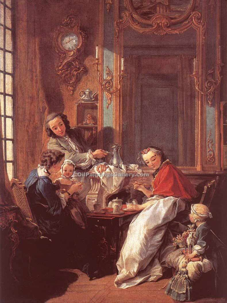 """The Afternoon Meal"" by  Francois Boucher"