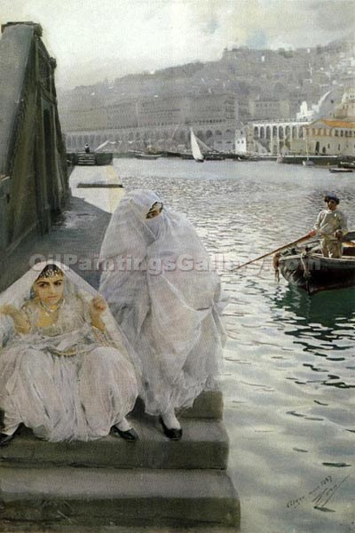 """The Algal Port"" by  Anders Zorn"