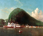 The American and the Coquette at Storm King on the Hudson by  James Gale Tyler (Painting ID: LA-2190-KA)