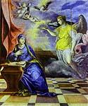 The Annunciation 05 by  El Greco (Painting ID: CM-1305-KA)