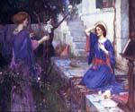 The Annunciation 28 by  John William Waterhouse (Painting ID: CL-4228-KA)