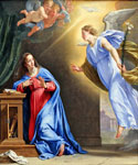 The Annunciation 97 by  Francesco Albani (Painting ID: DA-0097-KA)
